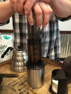 The Aeropress is one of the best coffee brewing methods