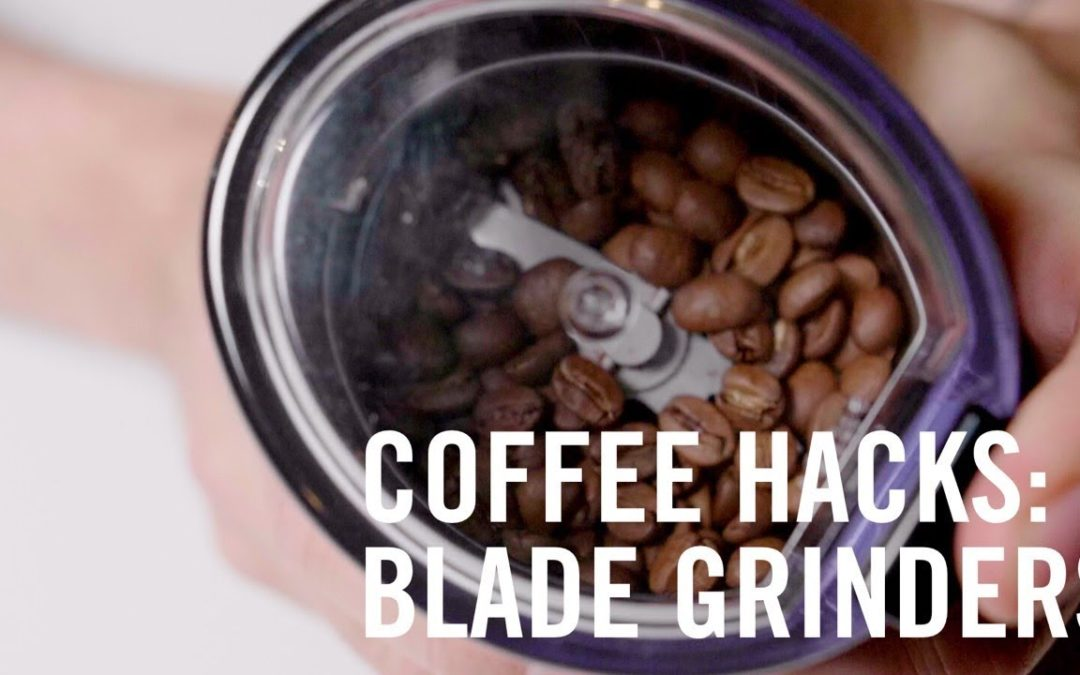 Better Coffee with a Blade Grinder